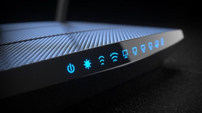 What should we avoid doing with the router?