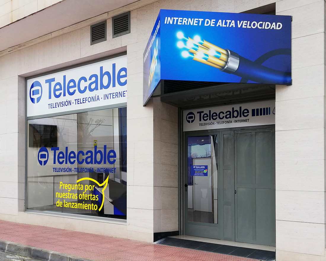 New Grupo Telecable office in Guardamar!!