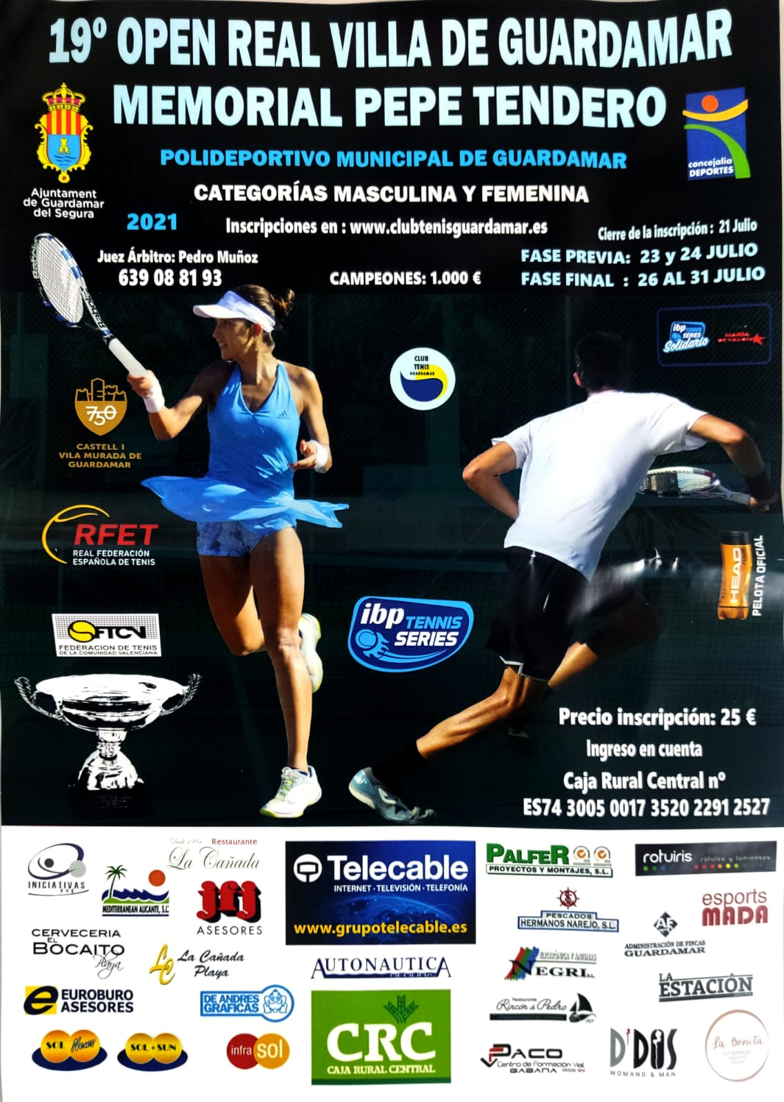 Torneo Tenis Guardamar
